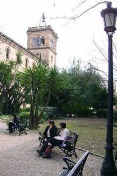 Jardins de la Universitat de Barcelona - Plaça Universitat.