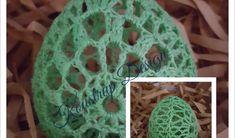 Hæklet Påskeæg – Primavera – Koustrup Design Crochet Earrings, Easter, Design, Jewelry, Kugle, Spring, Threading, Creative, Jewlery