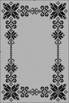 @nika Crochet Stitches Chart, Crochet Patterns, Cross Stitch Borders, Plastic Canvas Patterns, Doilies, Diy And Crafts, Projects To Try, Farmhouse Rugs, Knitting And Crocheting