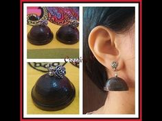 How to Make Quilling Jhumka For Beginners / Tutorial / Hello all, Welcome to Creative V Channel, here you can watch and learn how to do a lot of various . Ear Rings, Quilling, Drop Earrings, Creative, Youtube, How To Make, Jewelry, Bedspreads, Earrings
