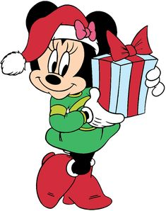 Mickey Mouse Christmas Clip Art ... Mickey Mouse Art, Mickey Mouse Christmas, Christmas Cartoons, Christmas Labels, Christmas Characters, Mickey Mouse And Friends, Christmas Stickers, Christmas Clipart, Christmas Yard Art