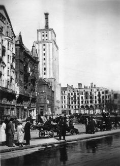 Warsaw Uprising, World Cities, Capital City, Destruction, Old Photos, Past, The Incredibles, Landscape, Street