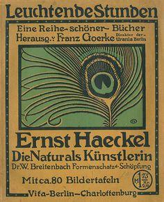 Die Natur als Künstlerin by Ernst Haeckel