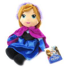 "Disney Frozen Anna 12"" Plush Soft Toy"