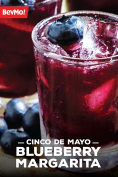 This spring, there's nothing like sipping on this delicious Blueberry Margarita. Grab the tequila, lime juice, and blueberry simple syrup to get started creating this fruity cocktail recipe for Cinco de Mayo.