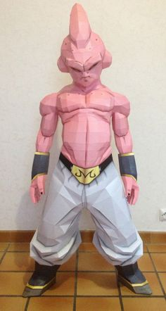 Kid Buu Life Size 1m30 on Behance