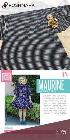 4a643d01aed LuLaRoe Maurine XL Lularoe s newest Dress