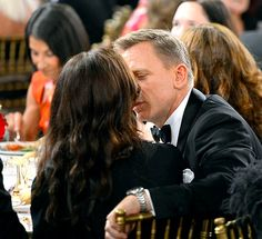 Daniel Craig and Rachel Weisz Pack on the PDA at BAFTA Britannia Awards