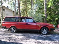1993 Volvo 240 Wagon. I'm a huge fan of station wagons, and I loved owning this car. 1993 was also the last year they made the 240.