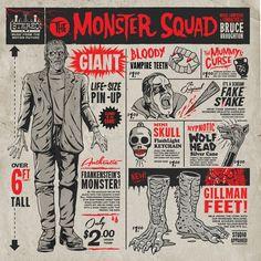 The Monster Squad - Original Motion Picture Soundtrack 2XLP – Mondo