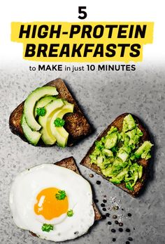 5 High-Protein Breakfasts to Make in 10 Minutes or Less | Extra Crispy