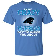 I'M THE CRAZY - PANTHERS