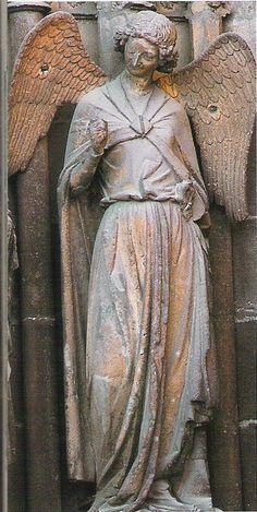 Cathédrale de Reims | l'ange au sourire