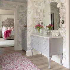 Great vanity! Bridge Street Residence by Martha O'Hara Interiors