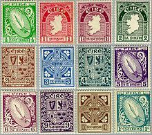 Definitive postage stamps of Ireland - Wikipedia, the free encyclopedia