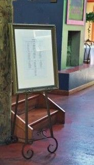 "Floor Standing Easels 70""  Adjustable  (pair of easels) 2 for $56 - For the vintage windows"