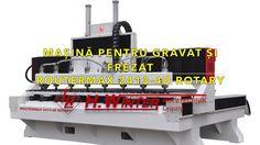 Router CNC pentru gravat si frezat WINTER ROUTERMAX 2413 4D ROTARY Rotary, Cnc, Winter, Winter Time, Winter Fashion