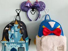 Set of Mouse Display Wall Hooks Mouse Ears Display Mini | Etsy Backpack Hooks, Mini Backpack, Diy Disney Ears, Disney Diy, Race Medal Displays, Headband Display, Disney Home, Create And Craft, Mickey Ears