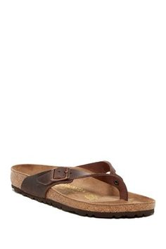 64551e3a694c Adria Classic Footbed Sandal Leather Slip On Shoes