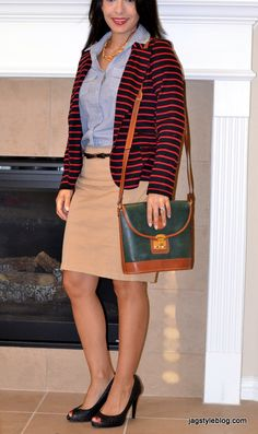 Jag Style Blog: Striped blazer