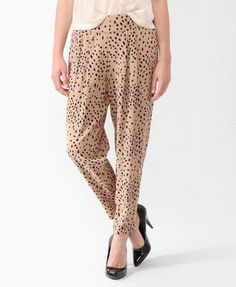 Love these print pants. I wear them with a basic black tee and fedora.