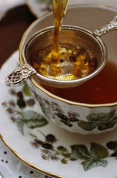 hmmmmm..... tea is bliss ...