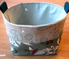 Free Japanese Sewing Patterns | Creative ideas for you: Baskets and Handbags - Patterns and Tutorials