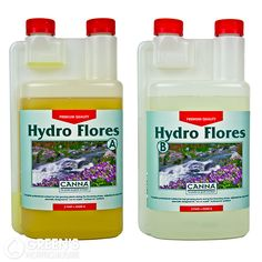 CANNA Hydro Flores:  Canna Hydro – or Substra as it was originally called – is the original nutrient from Canna engineered for run-to-waste hydroponic systems.
