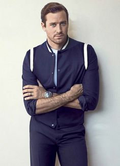 Armie Hammer Gq, Armie Hammer, Evolution Of Fashion, Pretty Men, Lookbook, Actor Model, Well Dressed, Sexy Men, Casual Shirts