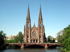 Strasbourg Cathedral | Strasbourg: population, area, timezone, geographical position ...