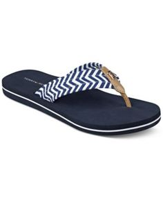 TOMMY HILFIGER Tommy Hilfiger Chill Flip-Flops. #tommyhilfiger #shoes # all women