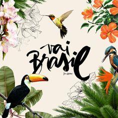 Daily Inspiration - Brasil ! by Karen Hofstetter