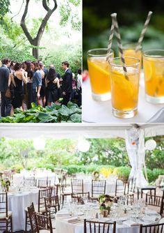 New York wedding reception.