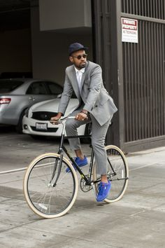 #RideWithStyle. #RideToWork. #BusinessMan