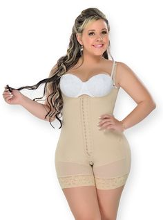Fajas Colombianas M&D Short Style Girdle Post Partum - Post Surgical Faja Moldeadora 0068