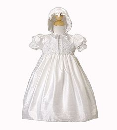Classy White Baby Baptism Silk Gown - Size 12 Month Crayon Kids,http://www.amazon.com/dp/B008FSXCAO/ref=cm_sw_r_pi_dp_.2dAsb0B8H6S3DP4