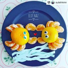 Gorgeous dancing crabs by @suletrkmn  We are so chuffed you enjoyed them! Thank you for sharing your creation   O zaman Merhaba   Thanks @iddlepeeps for this idea #repost #healthykids