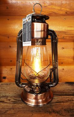 Originally introduced in 1898, the 'Dietz Junior' is still quite popular. Our electric versions allow folks can enjoy the warmth of lantern lighting without kerosene. We're selling the new copper-bronze Junior's just as fast as we can make them! Order soon for the Holidays by visiting our on-line store: www.BigRockLanterns.com!