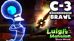 Luigi's Mansion Dark Moon - Old Clockworks - C-3 Roundhouse Brawl