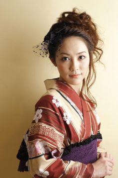 22 best yukata images on pinterest yukata kimono and kimonos cherry stopboris Gallery