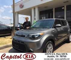 https://flic.kr/p/y6X9cM | Congratulations Susan Lynn on your #Kia#Soul from Ivan Rodriguez at Capitol Kia! | deliverymaxx.com/DealerReviews.aspx?DealerCode=RXQC