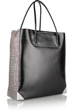 Alexander Wang - Prisma paneled leather tote #THEOUTNET