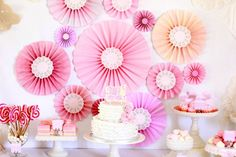pink baby showers | Pink Baby Shower Ideas | Catch My Party