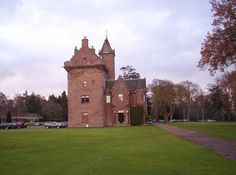 Guthrie Castle is a castle and country house in Angus