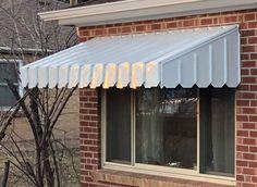 Pan Type Window and Door Awning Aluminum Window Awnings, Bakery Interior, Door Canopy, Store Fronts, Hoods, New Homes, Design Ideas, Windows, Interiors