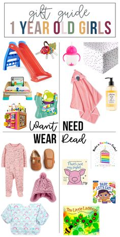 want, need, wear, read: the gift guide for 1 year old girls