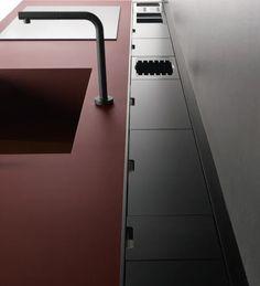 Кухни Кухня SEI 4, Фабрика Euromobil Cucine, SEI4 - Comodo Ступеньки, Домашний Декор