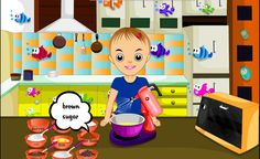 Play chocolate chip cookie game for girls & kids online. Make your own recipes. It's play time for girls & kids! Kids Online, Online Games, Cookie Games, Girl Cooking, Make Your Own, How To Make, Games For Girls, Chocolate Chip Cookies, Amp