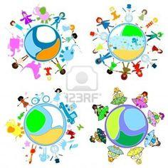 kinderen van de wereld Globes, Compass, Mathematics, Flags, Science, Map, History, School, Google