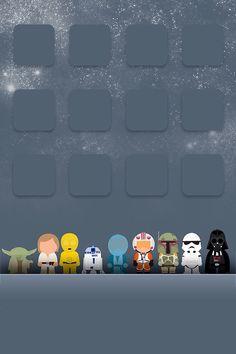 Fondo de pantalla iPhone4 Star Wars
